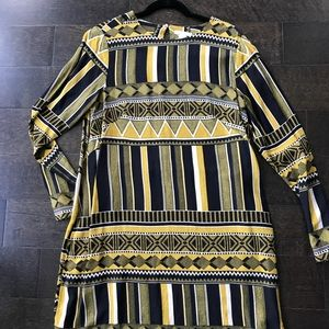 Women's Aztec Print H&M dress